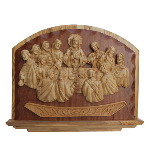 olive wood last supper