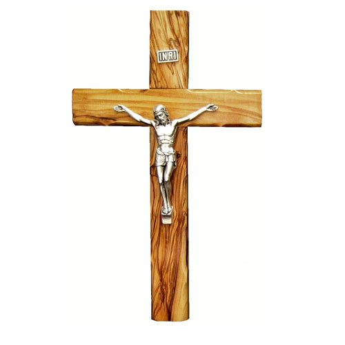 Crucifix With Silver Plated Corpus